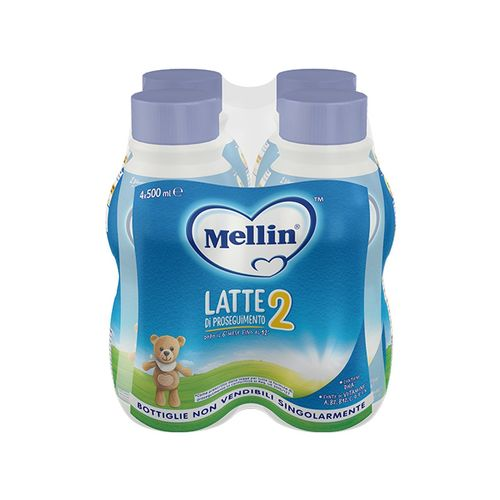 LATTE MELLIN 2 LIQUIDO 4X500ML